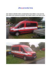 Pořízení nového hasičského vozidla – zásada publicity